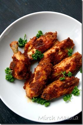 Taco Spiced Buffalo Chicken Wings