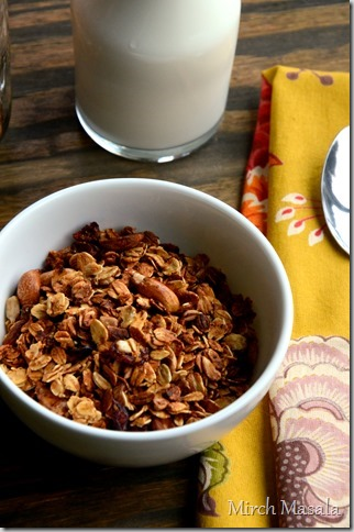 Basic Granola Recipe with a hint of Cardamom (2)