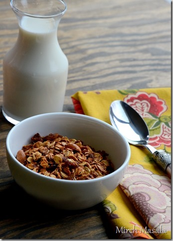 Basic Granola Recipe with a hint of Cardamom (3)