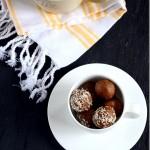 Almond Peanut Butter Rum Balls - mirch Masala OR Almond Peanut butter Sun butter balls for toddlers  kids (4)