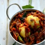 Kerala Style Egg Roast ~ Mutta Roast