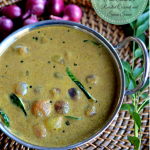 Ulli Theeyal - Pearl Onions in a Roasted Coconut and Spices Sauce - A Kerala Recipe - Mirch Masala