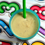 Breakfast Smoothie with Avocado Bananas Peanut Butter - Mirch Masala Little People Food - Toddler Food, Kids Meal
