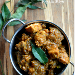 Varutharacha Chicken Curry ~ Kerala Style ~ Chicken Curry with a Roasted Coconut and Spices Sauce - Mirch Masala